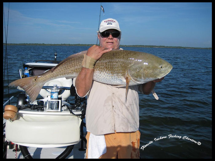 Mosquito lagoon redfish central florida redfish for Florida fishing trips