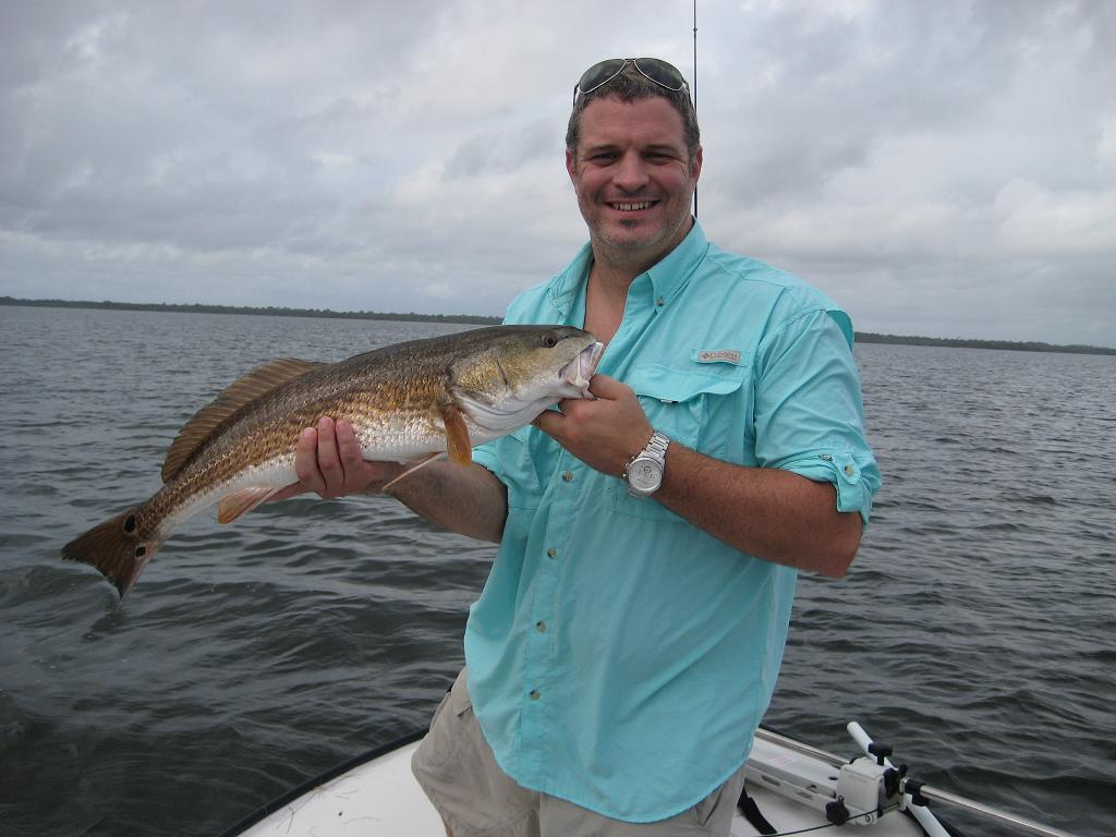 Titusville redfish pictures mosquito lagoon fish for Indian river florida fishing