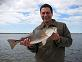 Sight Fishing Redfish on the Mosquito Lagoon Near Daytona Beach