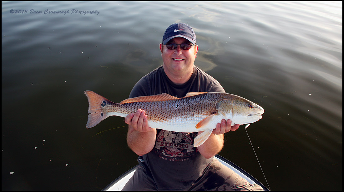 Mosquito lagoon fishing charter report august 2013 for Fishing charters daytona beach florida