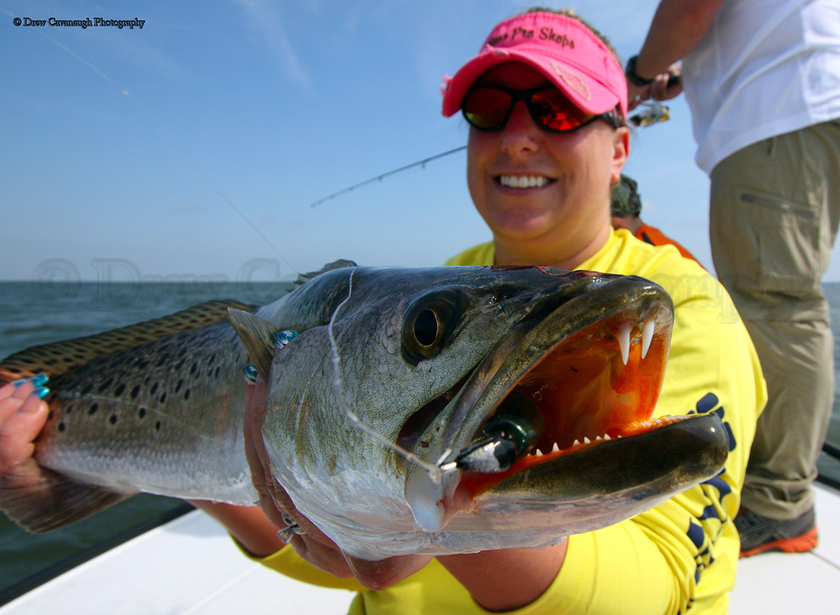 Indian River Seatrout Florida Trout Fishing Pictures