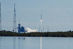 Mosquito Lagoon KSC Rocket Launch