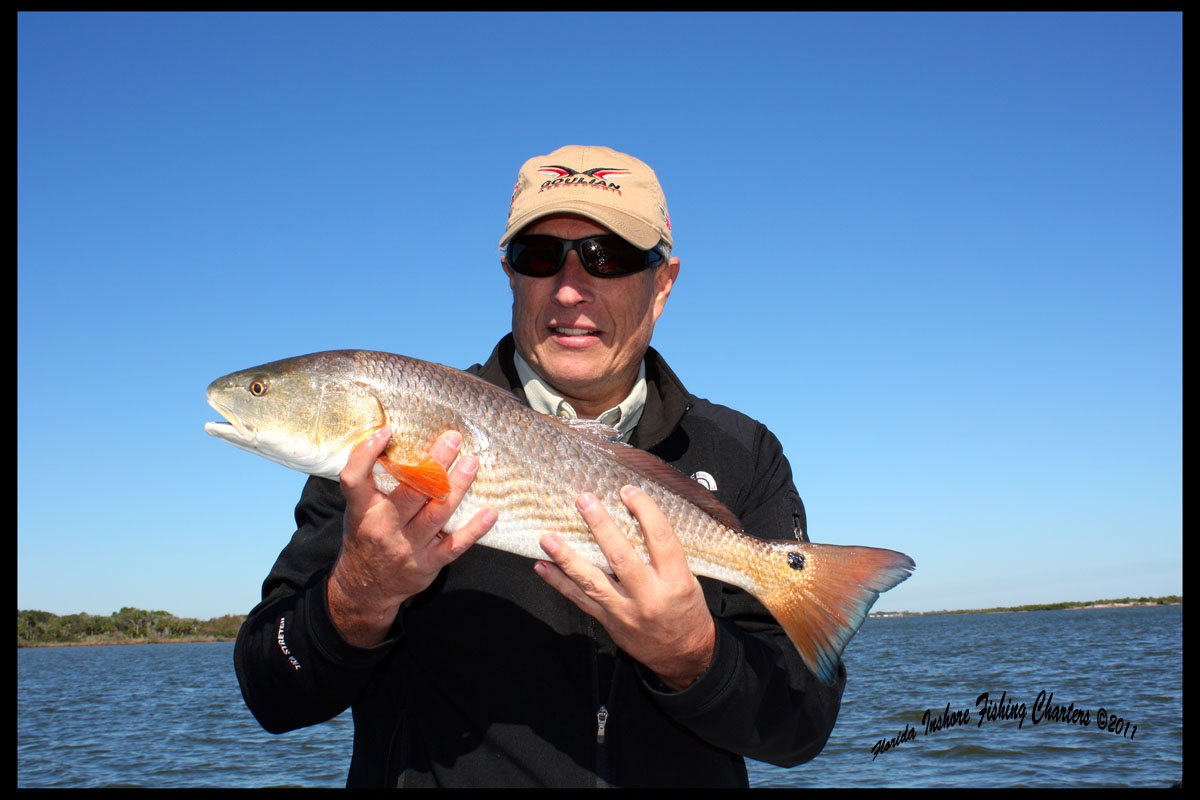 Orlando florida saltwater flats fishing reports december for Fly fishing for redfish