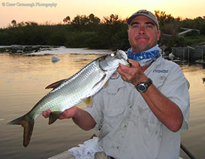 Central Florida Backcountry Tarpon Fishing Guide